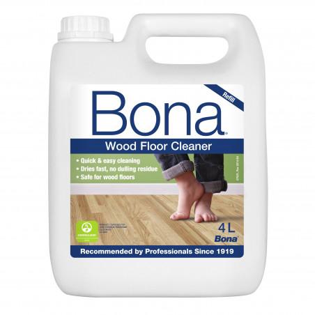 Recambio limpiador suelos de madera 4L